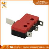Commutateur micro miniature terminal de soudure de levier déplié par Kw12-15 de Lema