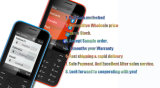 "Originele Nekia 208 2.4 "" 1.3MP GSM Mobile Phones"