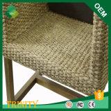 Neues Modell Grass Rattan-Rabatt-moderner Form-Art-Stock-Stuhl für Küche