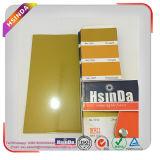 Ral1005金属のガスこんろのための黄色い光沢のある効果の粉のコーティング