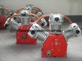 Compresor de aire del cilindro del motor eléctrico 3 de Kaishan 15kw 5bar para la mina W-2.6/5D