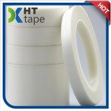 Bande blanche à simple face adhésive de tissu en verre de silicones anti-caloriques