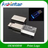 Azionamento a cristallo istantaneo dell'istantaneo del USB del disco LED del USB del metallo USB3.0