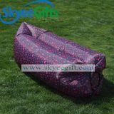 卸し売り習慣によって印刷される膨脹可能なLaybagスリープの状態である空気ソファー