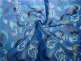 Tela de algodão do Ramie da tela do Knit do Ramie para a camisa (DSC-4160)
