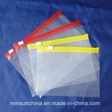 Progettare il sacchetto per il cliente a chiusura lampo con buona qualità per la promozione (MS-ZB015)
