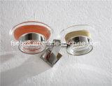 Support annexe d'assiette de savon de double d'acier inoxydable de salle de bains (Ymt-2311)