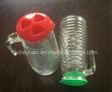 De plastic Blikken 900ml van de Drank van de Ketel van het Glas van het Deksel Koude