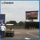 Grande LED video parete per la pubblicità commerciale, Governo impermeabile, alta luminosità di colore completo