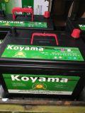 12V 65ah Batterij van de Auto van het Onderhoud de Vrije voor Japanse Auto