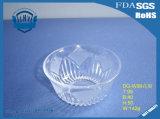 둥근 큰 무연 투명한 유리 그릇