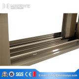 Окно стекла высокого качества двойное термально сломанное алюминиевое сползая сделанное в Китае