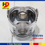 Pistão das peças de motor 4tnv98 do tamanho padrão com OEM do Pin (129907-22090)