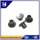 Черная заклепка плоской головки цинка/никеля