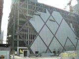 Comercial y Residencial 5 + 9A + 5mm cortina de cristal doble pared de cristal del edificio