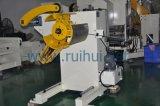금속 Uncoiler 수동 압축 공기를 넣은 기계 압박 선에서 를 사용하는