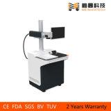 Máquina de gravura de impressão a laser amplamente utilizada em metal