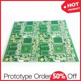 Placa de circuito individual 94V0 avanzada RoHS Fr4