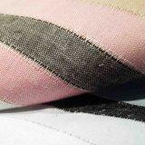 A tela de algodão tingiu a tela de linho da tela do jacquard para a matéria têxtil da HOME do vestuário das crianças do revestimento da saia do vestido da mulher