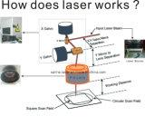 Mooi Metaal en de Plastic Laser die van de Vezel de Machine van de Router Machine/CNC en van de Laser merken