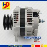 日産のためのTd42 Fd33エンジンの予備品の交流発電機