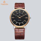Reloj analogico vendedor caliente 72662 de la correa de cuero de la manera de los hombres de Curren