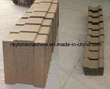 販売のためのディーゼル機関Qts1-20を搭載する連結油圧移動式粘土の煉瓦作成機械