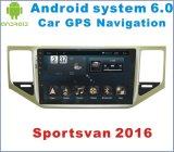 Navigation androïde du véhicule GPS du système 6.0 pour Sportsvan avec le lecteur DVD de véhicule