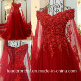 Red Prom Gown Lace Tulle Jeweled Party Evening Dresses E99921