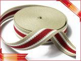 Nastro tessuto elastico del jacquard di marchio del nastro delle mutande
