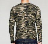 Camiseta larga 100% de la funda de Camo del algodón al aire libre