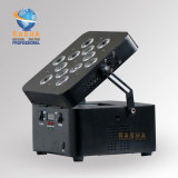 De Batterij van de Vierling 12*10W 4in1 RGBW/RGBA van Freedoom stelde de Verlichting van het Stadium van de Projector van het Draadloze LEIDENE PARI van Freedoom in werking