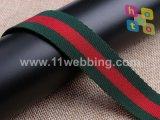 """1.5 de """" Zwarte/Witte Riem van de Singelband van de Polyester voor de Riem van Handtassen"""