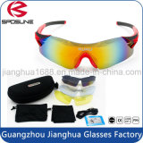 Outdoor Beach Volleyball Lunettes de soleil polarisées Tr90 Sports Sun Glasses Fashion Rimless Drop Ship Driving Glasses avec 5 lentilles