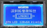 128X64 grafische LCD LCD van het Type van Radertje van de Vertoning Module (LM6063A)