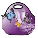 Recipiente térmico da caixa do Tote do saco do almoço do trabalho da escola do refrigerador ao ar livre do curso da borboleta
