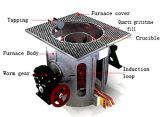 500kg Oven van de Inductie van het Staal van het koper de Smeltende voor Verkoop (gymnastiek-200AB)