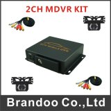 Camion de bus scolaire Taxi Mdvr Kit 128GB 2CH Car DVR