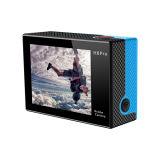 Do controlador remoto real do esporte DV 2.4G de WiFi tela dupla da cor 4k 30fps FHD Ambarella A12s75 da câmera da ação de H8s