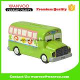 Juguete autobús promocional Porcelana moneda del dinero de la caja del ahorro para los niños