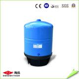 Grande serbatoio verticale personalizzato del depuratore di acqua di colore blu
