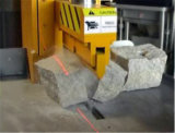 Macchina di schiacciamento di pietra idraulica per lastricatori di marmo del granito di taglio/(P90)
