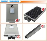 Hot Sale Outdoor Sensor Aluminium en fonte solaire 15W LED Street Light Pole