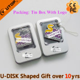 Lettre/caractère faits sur commande USB Shaped Pendrive pour le présent (YT-1800)
