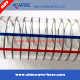 Прозрачный гибкий шланг стального провода весны PVC 2017 пластичный