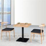 Muebles de madera comerciales del restaurante fijados con el vector cuadrado (SP-CT625)