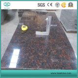 Granit de Tan Brown Sstone/revêtement/plancher/pavage/tuiles/brames/partie supérieure du comptoir de granit/cuisine