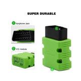 Color verde profesional de Konnwei Kw902 Bluetooth de la solución del OBD