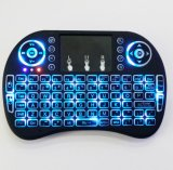 Wireless Bluetooth Mini USB 2.4G I8 Game Keyboard pour Smart TV iPad Tablet