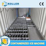 bloco de gelo 40hq Containerized que faz a máquina para o barco de pesca